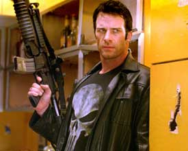 Thomas Jane plays the Punisher