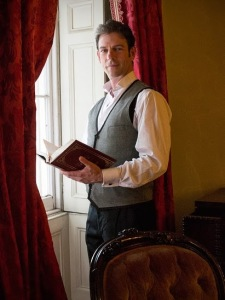 John Kelvin Jones starts in A Christmas Carol at the Merchants Museum (photo: