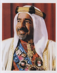 Sheikh Isa bin Salman Al-Khalifah, ruler of Bahrain from 1961-99