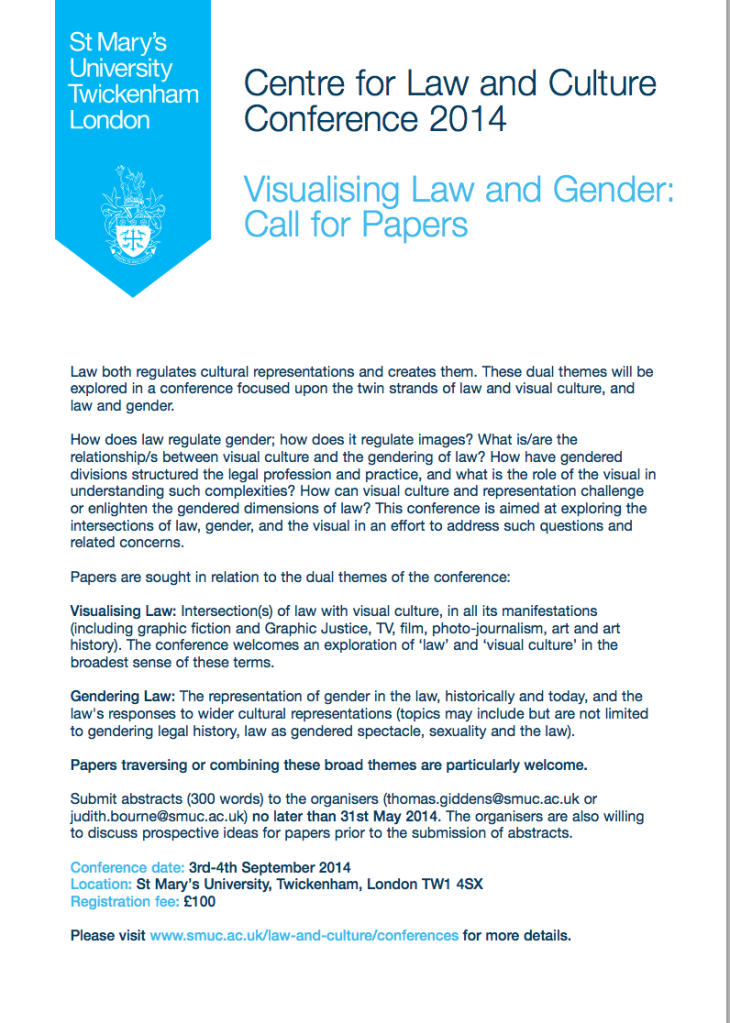 Visual Law and Gender Conference